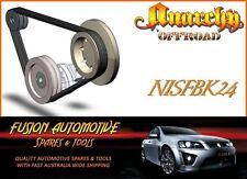 Fan Belt Kit for NISSAN PATROL GQ 4.2L 6 CYL. DIESEL TD42 NIS24
