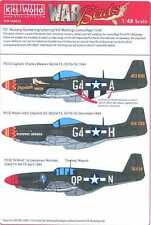 Kits World Decals 1/48 P-51 NUMBERS LETTERS KILL MARKINGS Camouflage Finish