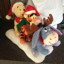Disney Eeyore Tigger Winnie Musical Animated Sleigh Ride Motionette New