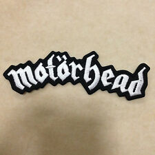MOTORHEAD ROCK BAND PUNK HEAVY METAL MUSIC EMBROIDERY IRON ON PATCH BADGE
