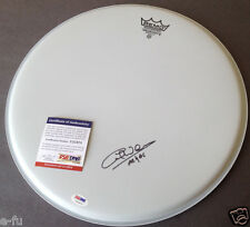 CLIFF WILLIAMS Signed Drum Head Inscribed AC/DC PSA/DNA Auto Certified Autograph