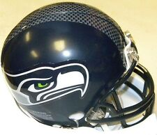 Seattle Seahawks NFL Football Team Logo Riddell Mini Helmet