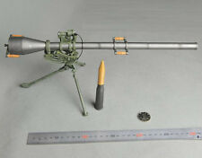 """1/6 Dragon Model WWII US M20 75mm Recoilless Rifle Weapon Kit For 12"""" Figure Toy"""