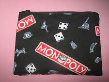 GAME PIECE BAG-CLOTH POUCH-STASH BAG-MAKE UP BAG-Handmade