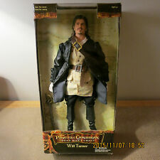 """DISNEY *PIRATES OF THE CARIBBEAN*~WILL TURNER 12"""" ACTION FIGURE~ NRFP!!!"""