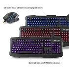 Sumvision Nemesis Kane Pro LED USB Gaming Keyboard and Mouse Set With 2400 DPI