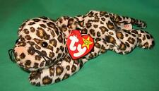 Freckles Ty Beanie Baby Leopard Jungle Cat MWMT Birthday June 3 1996 #4066