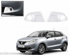 Premium Quality Car Chrome Fog Lamp Cover For - Maruti Suzuki Baleno 2016