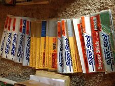 """20 VINTAGE SUPER STICK/PRESTO 3,4 & 6"""" GOTHIC LETTERS,NUMBERS NEW OLD STOCK"""
