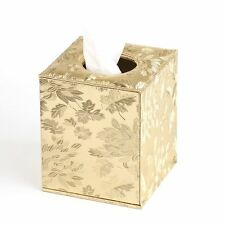 "YJY 6""16cm Shiny Gold Tissue Holder Box Cover - Decorative Roll Facial Paper for"
