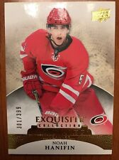 2015-16 Exquisite Collection Rookies Noah Hanifin #R-6 301/399