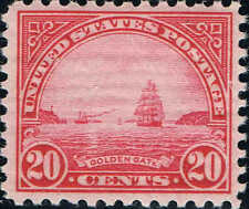#567 1922  20c HI VALUE  PERF 11 ISSUE MINT-OG/NH