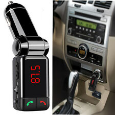 Bluetooth MP3 Player FM Transmitter Hands-free Car Kit Charger for iPhone 5 4s 4