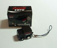 COCA COLA ZERO Mobile Phone Lanyard Mini BLACK TRUCK LORRY Moving Singapore 2009