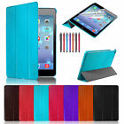 Slim Smart Magnetic Leather Case Cover for New Apple iPad Air iPad 5 2013 Black