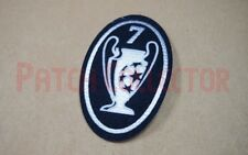 UEFA Champions League 7 Times Trophy - dark blue Patch / Badge