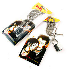 NANA Ren Lock + Key Necklace Cosplay Ai Yazawa Anime Punk Lovers Couples Jewelry