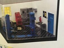 TESTERS GARAGE TOOL SET SET for DIORAMA 1/24  PLASTIC NEW IN BOX