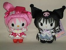 Magical girl Madoka Magica x My Melody plush doll Lot of 2 Sanrio 2012 Rare NWT!