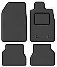 TOYOTA AVENSIS 2009-2011 TAILORED GREY CAR MATS WITH BLACK TRIM