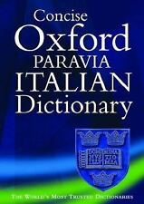 Concise Oxford-Paravia Italian Dictionary-ExLibrary
