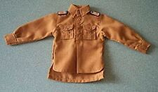 In The Past Toys 1/6 scale Toy German Brown Panzer shirt Pink piping LAH emblem
