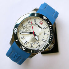 NEW $350 GENTS 43MM WENGER 641.112 BLUE SEA FORCE OUTSIDE MAGAZINE WATCH OF YEAR