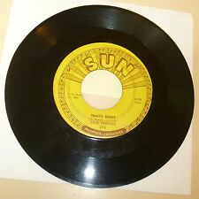 ROCKABILLY 45 RPM RECORD - CARL PERKINS - SUN 274