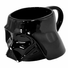 STAR WARS SMALL 3D MUG DARTH VADER BLACK GIFT NEW OFFICIAL FREE P+P
