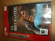 Explosiv US Most Wanted (PC, 2002). NEW SEALED