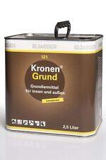 Jaeger Kronengrund 121 farblos braune Kanne 2,5l Grundiermittel