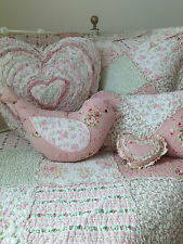 7 pce Linens n Things Lila Girls Baby Cot Quilt Shabby Chic Nursery Set