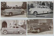 6 Vintage 1947 Models Oldsmobile Car Automobile Postcards