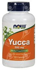 NOW Foods, Yucca  500mg x100Caps - SAME DAY DISPATCH BEFORE 2PM!!