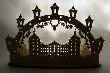 BELIEBT Schloss Moritzburg Basteln  wunderschön Lichteffekte 12 cm mit LED licht