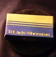 Vintage TEL AVIV Sheraton HOTEL Room Soap in Box 1960s