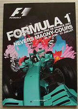 FRENCH GRAND PRIX FORMULA ONE F1 2007 MAGNY COURS Official Programme