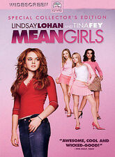 Mean Girls DVD NEW 2004 Widescreen Special Collectors Edition Lohan, Fey Poehler