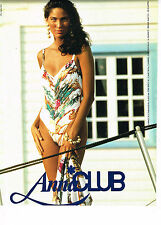 PUBLICITE ADVERTISING 044  1991  ANNA CLUB  collection maillot de bain