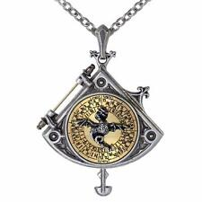 ALCHEMY ASTRAL DRAGON QUADRANT LOCKET GOTHIC STEAMPUNK EMPIRE PENDANT + GIFT BOX