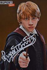 RUPERT GRINT - Autogrammkarte - Autograph Autogramm Clippings Fan Sammlung