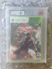 NEW FACTORY SEALED DEAD ISLAND ORIGINAL RELEASE XBOX 360 UKG / VGA GRADED 90