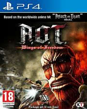 Attack on Titan: Wings of Freedom AOT Sony PlayStation 4 New PS4