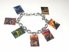 Harry Potter Book Cover Art Bracelet Handmade Plastic Charms Hermione Hogwarts