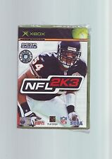 Nfl 2K3-football américain d'origine XBOX game/compatible 360-new & sealed d