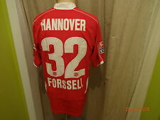"Hannover 96 original under armour camiseta 2008/09 ""tui"" + nº 32 forssell talla m top"