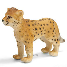 Schleich 14327 Cheetah Cub Wild Animal Big Cat Model Toy Figurine - NIP