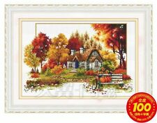 AL21172 Story of the Autumn Printed Cross Stitch Kit