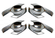 4 Door Chrome Door Handle Bowl For Nissan Frontier Navara D40 Pickup 2005 - 2014