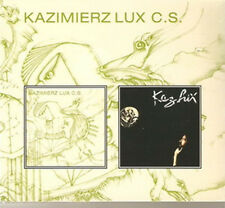 "Kaz Lux:  ""Kazimierz Lux C.C. / Distance""  (2on1 Digipak CD Reissue)"